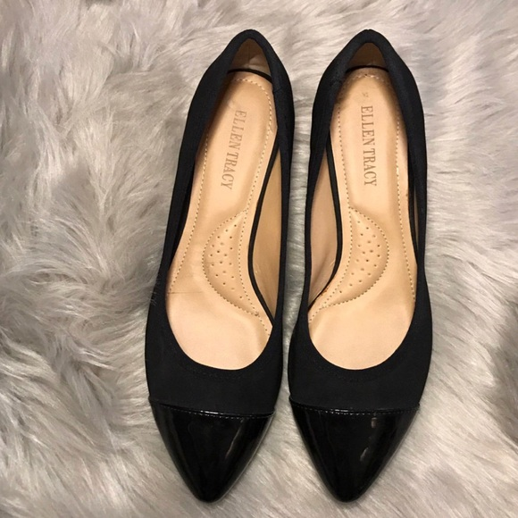 6d9e44a81 Ellen Tracy Shoes | Classy Flats W A Slight Lil Heel A Pointed Toe ...